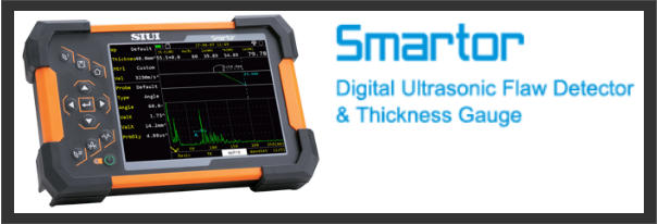 SIUI Smartor Highly Portable Digital Ultrasonic Flaw Detector & Ultrasonic Thickness Gauge