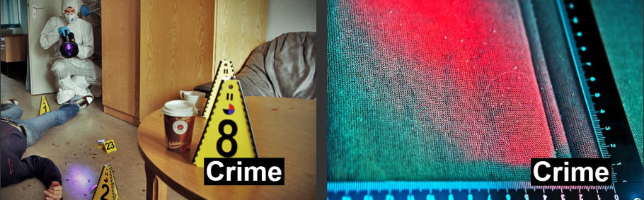 Using Labino ALS Lights for Crime & Forensic Investigations