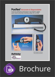 Defelsko PosiTest Coating Thickness Gauge Brochure Button