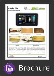NDT Systems Curlin Air | Air Coupled Ultrasonic Flaw Detector & Bond Tester Brochure Button
