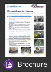 ScanMaster Ultrasonic Inspection Systems Brochure Button
